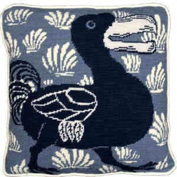 Blue Dodo Needlepoint Kit