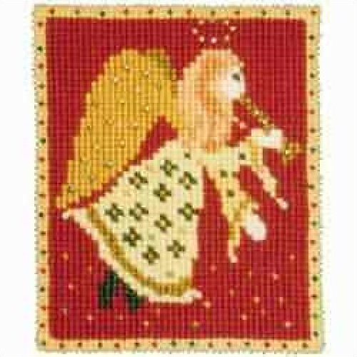Christmas Needlepoint Kits Angel