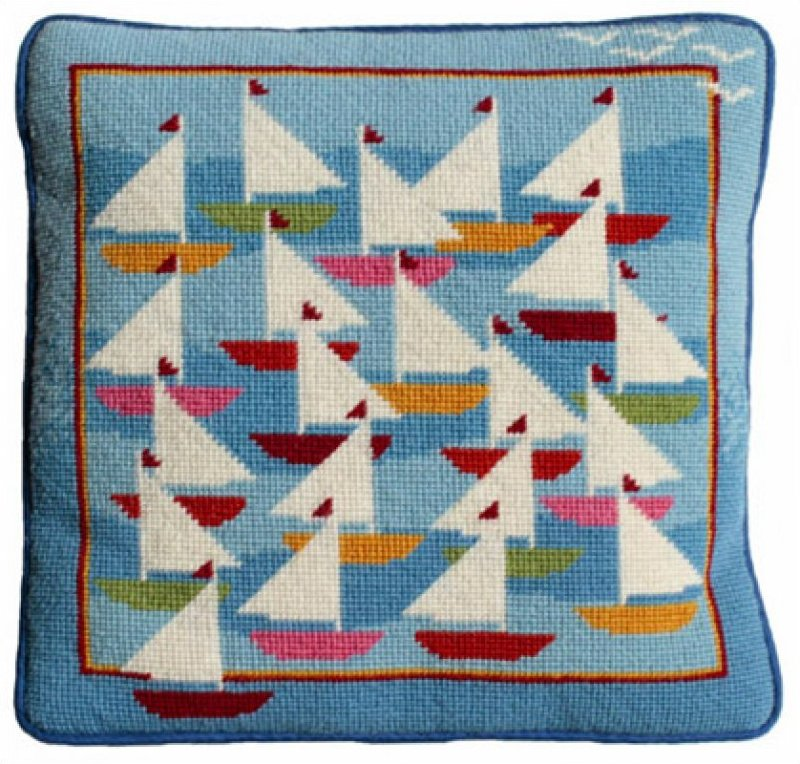 Regatta Needlepoint Kit