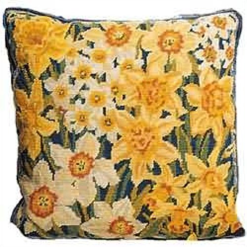 Narcissi and Daffodils<BR>Primavera Needlepoint