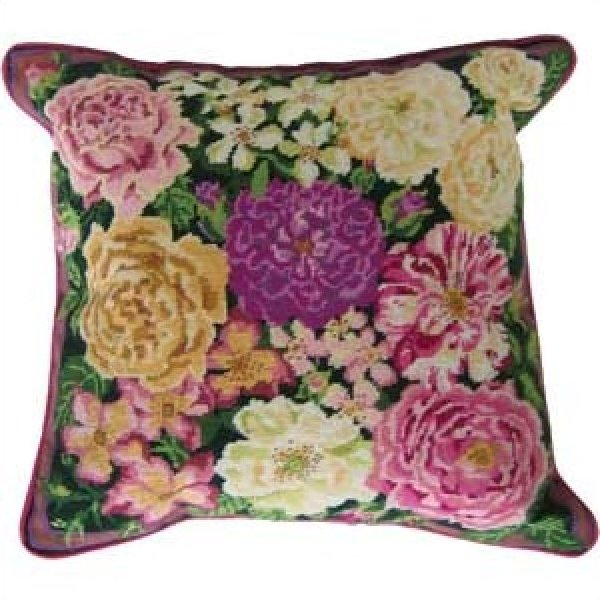 Rose Garden Primavera Needlepoint