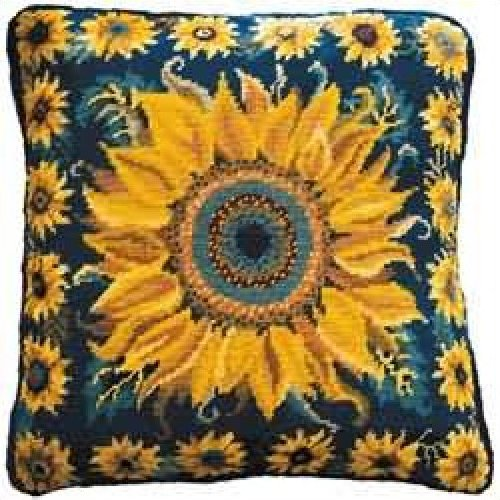 Sunflower Garden Primavera Needlepoint