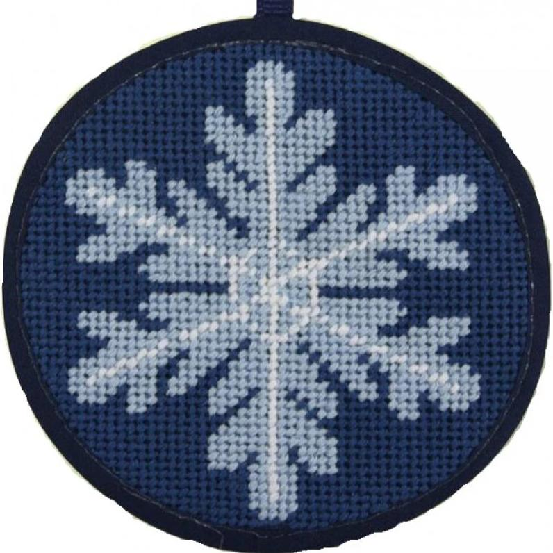 Needlepoint Christmas Ornament Kit Snowflake