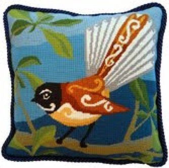 Fantail Contemporary Needlepoint Kit