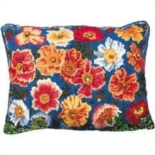 Garden Poppies Primavera Needlepoint