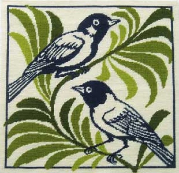 Fine Cell Needlework<BR>Resting Birds