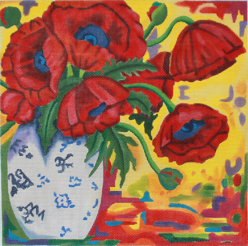 Tapestry Poppies