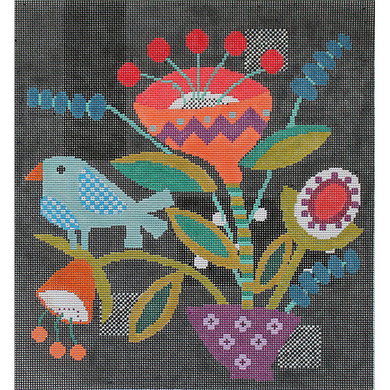 Quilt Block #3 by Sue Spargo