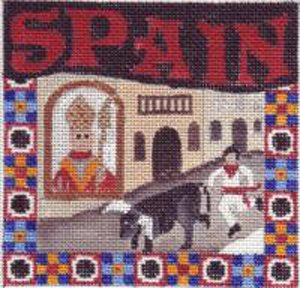 Spain Needlepoint - Canvas Only