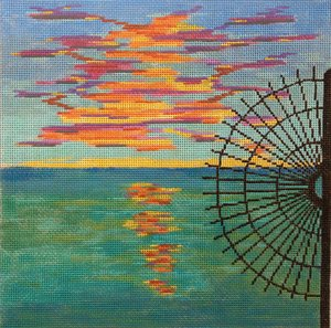 Southern Most Sunset - Canvas only