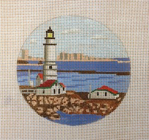 Boston LIghthouse - Canvas Only