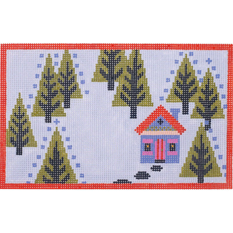 Woodland Home (Spring) Needlepoint