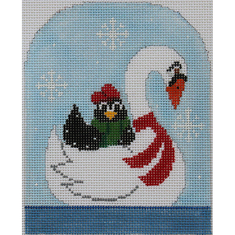 12Days of Christmas by Annie Lane - 7 Swans