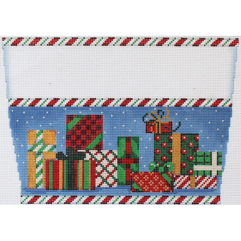 Christmas Gifts Galore Stocking topper