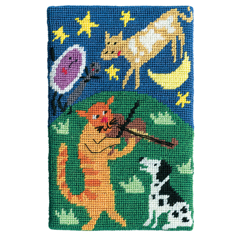 Jennifer Pudney Needlepoint Hey Diddle Diddle