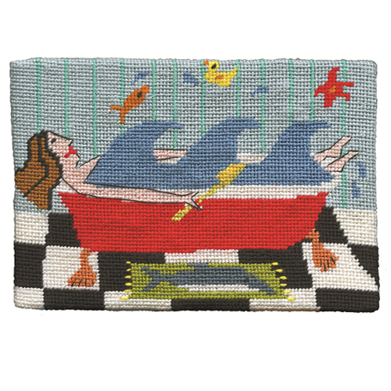 Jennifer Pudney Needlepoint Making Waves