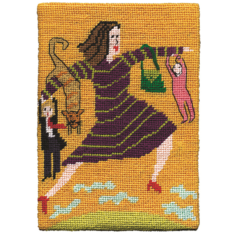 Jennifer Pudney Needlepoint The Incredible Woman