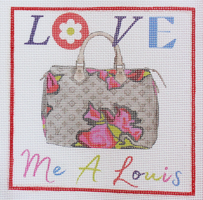 Love Me a Louis Needlepoint Kit