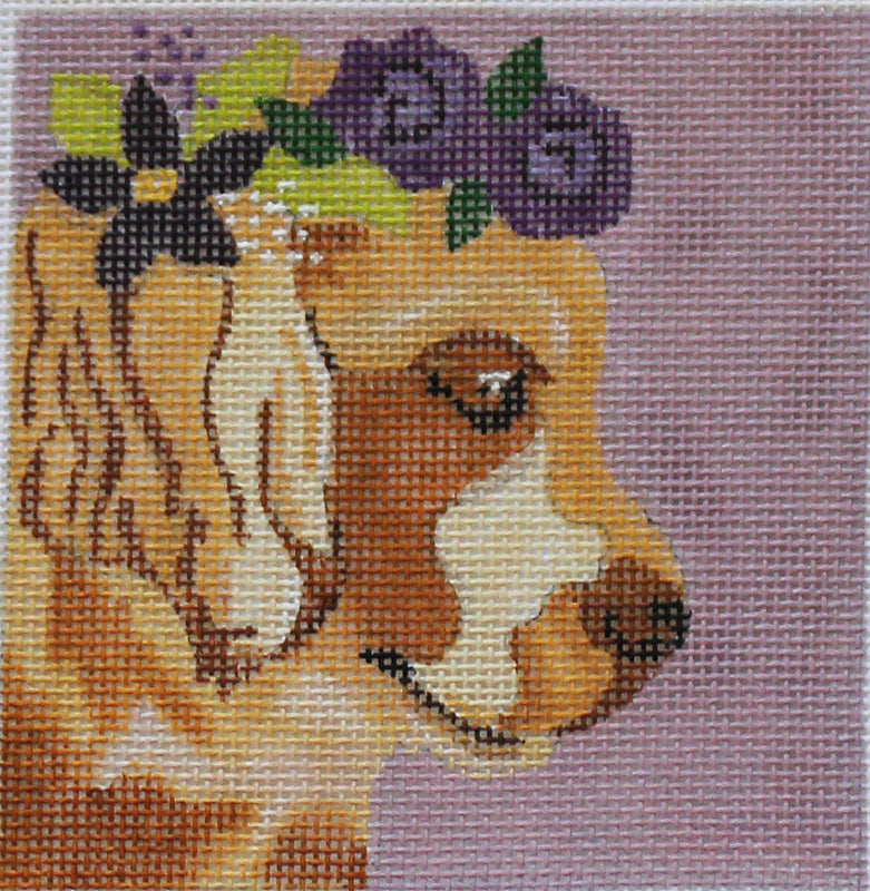 Melissa Prince Needlepoint: Golden