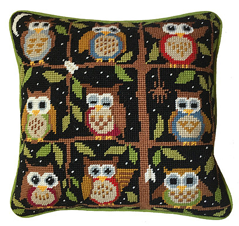 Night Owls Needlepoint Kit
