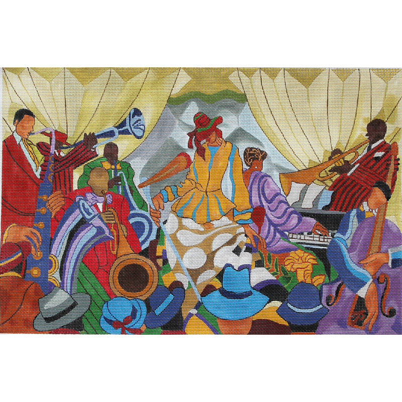 Jazz Band by  Prince Duncan-Williams