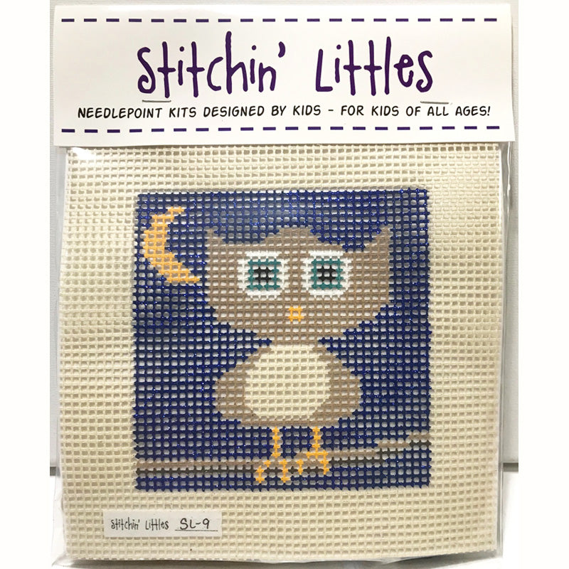 SL-9- Stitchin' Littles Kits Hootie