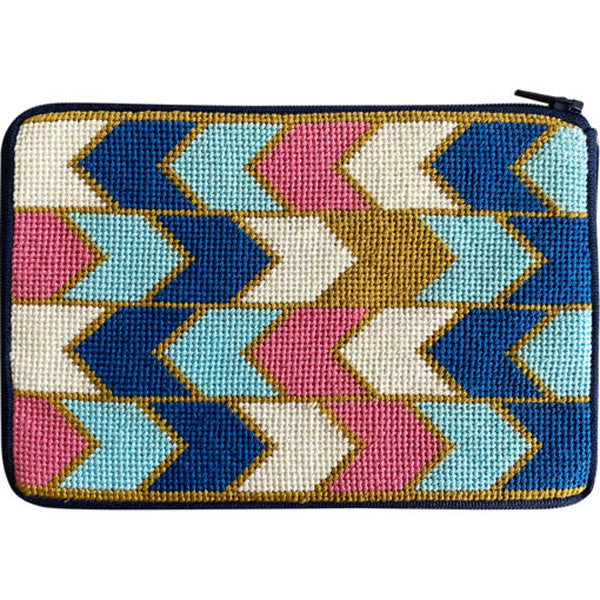 Stitch & Zip Needlepoint Geometric Arrows