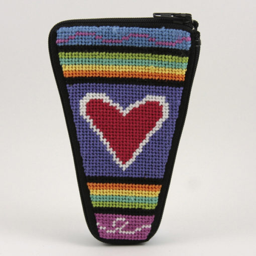 Stitch & Zip Scissor Case Heart of Hearts
