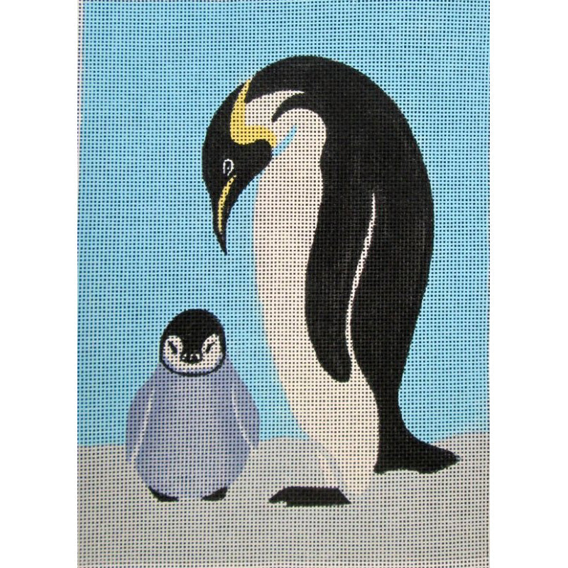 Penguins Needlepoint By Anna See