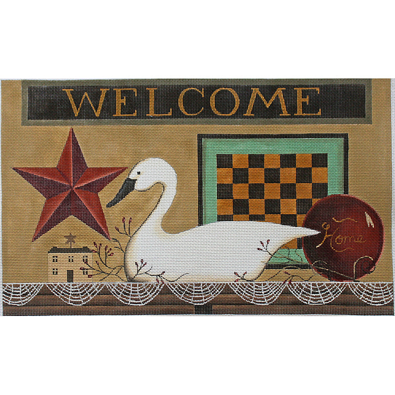 Welcome Home Needlepoint