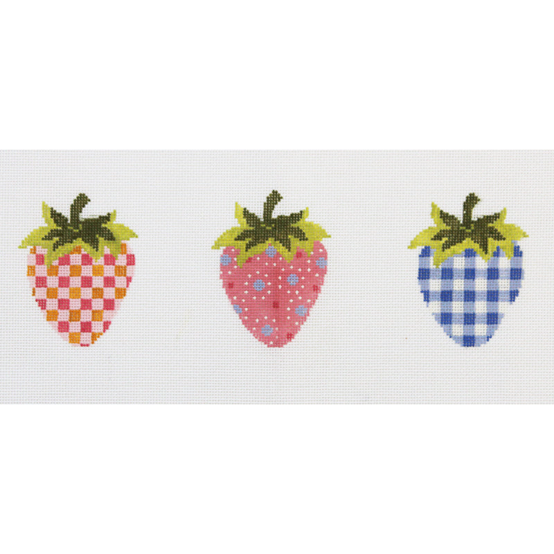 Strawberries Needlepoint