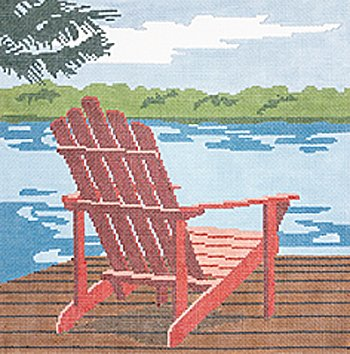 Adirondack by Cindy Lindgren    - Canvas Only