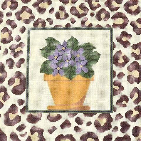 African Violets by J. Child Designs   - Canvas only