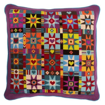 Alcazar Patchwork Needlepoint kit