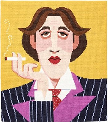 Oscar Wilde needlepoint kit