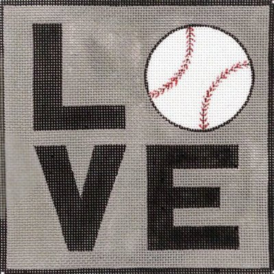 Baseball LOVE - Canvas Only