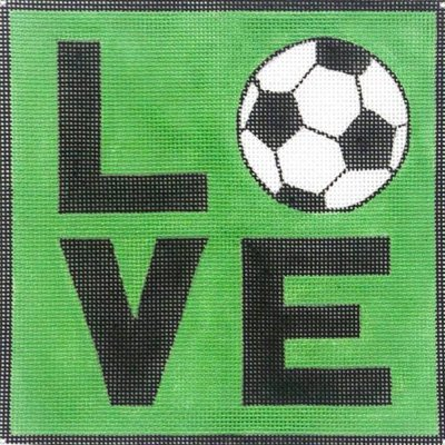 Soccer LOVE - Canvas Only