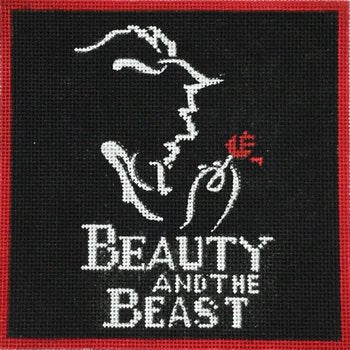 Beauty & the Beast by Alice Peterson  - Canvas Only