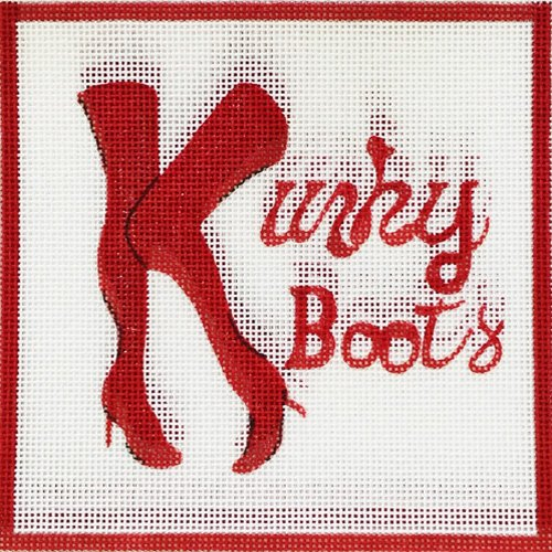 Kinky Boots by Alice Peterson   - Canvas Only