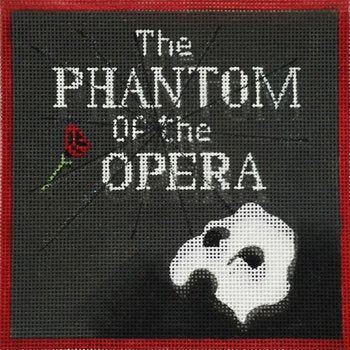 Phantom of the Opera by Alice Peterson   - Canvas Only