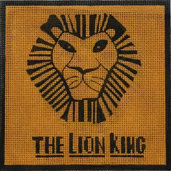 The Lion King by Alice Peterson  - Canvas Only