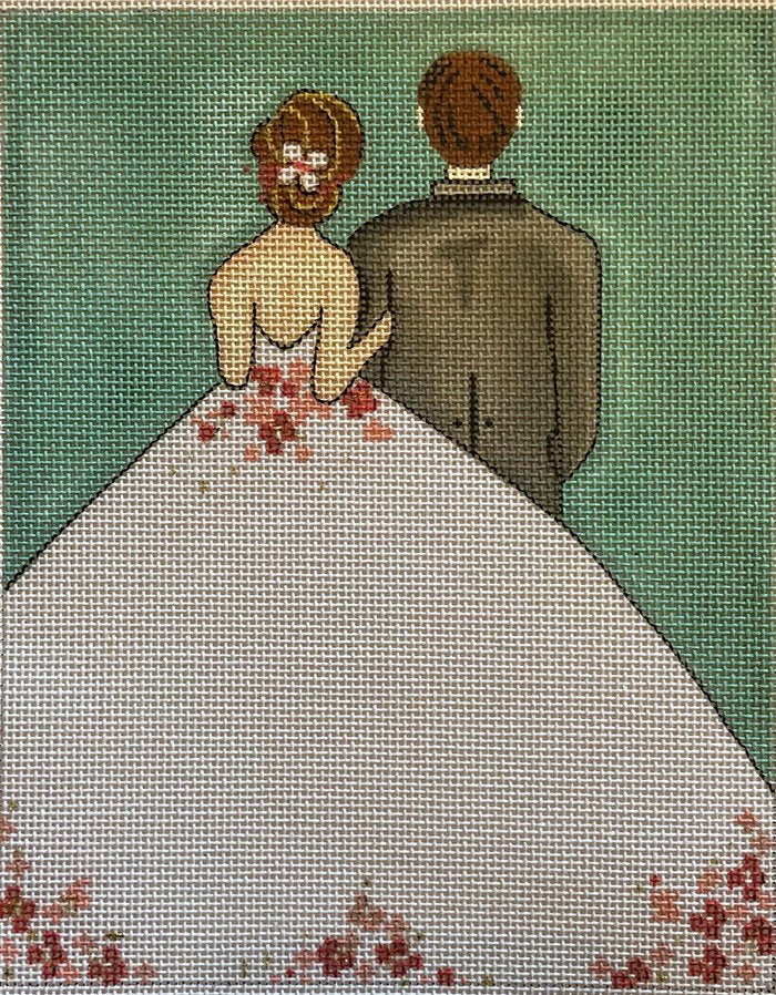 Just Married by Alice Peterson - Canvas Only