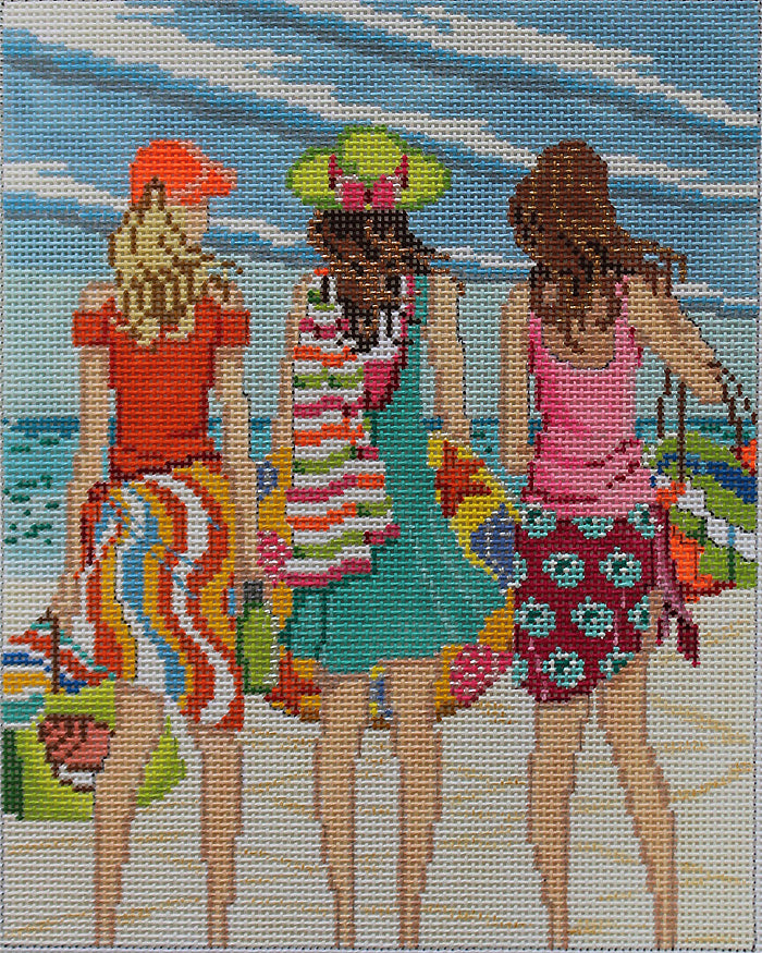 Three Girls in Summer