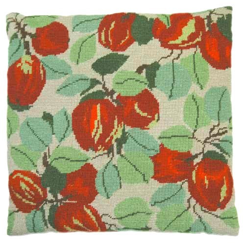 Needlepoint Pillow Kit Apples