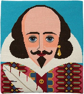 Shakespeare needlepoint kit