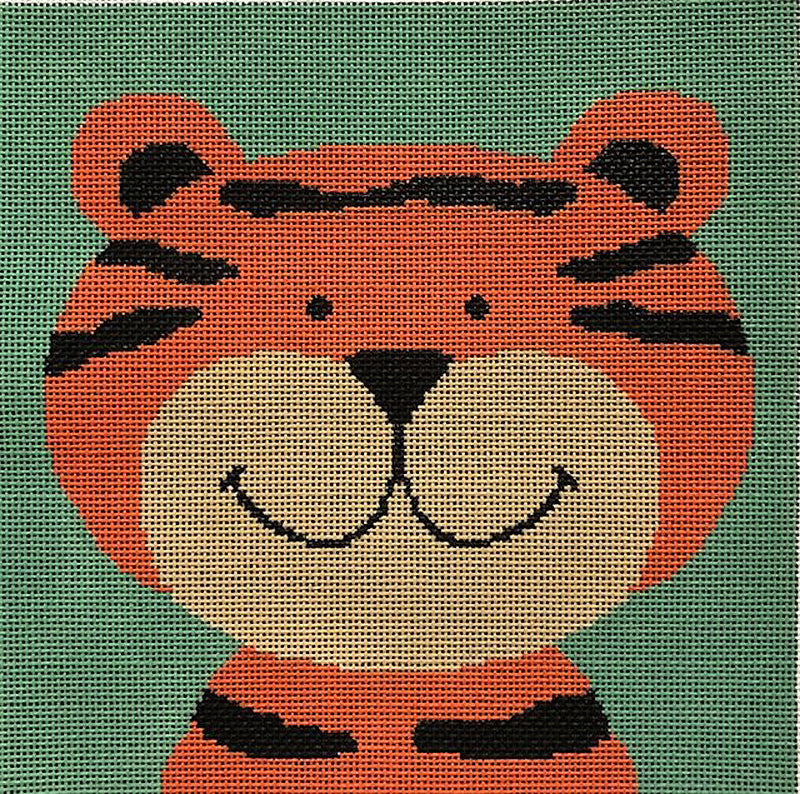 Silly Tiger Needlepoint