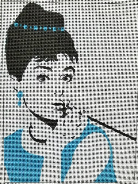 Breakfast at Tiffany's Needlepoint Kit
