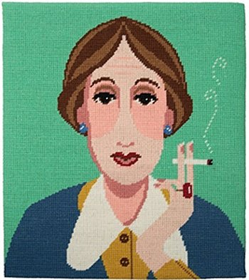 Virginia Woolf needlepoint kit