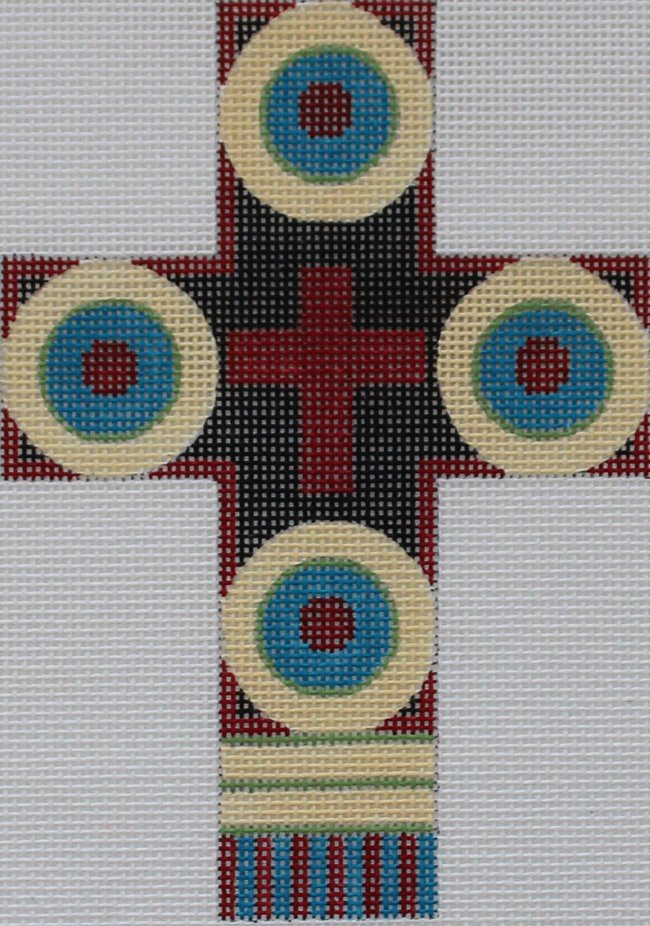 Cross: South Western colors - Canvas Only