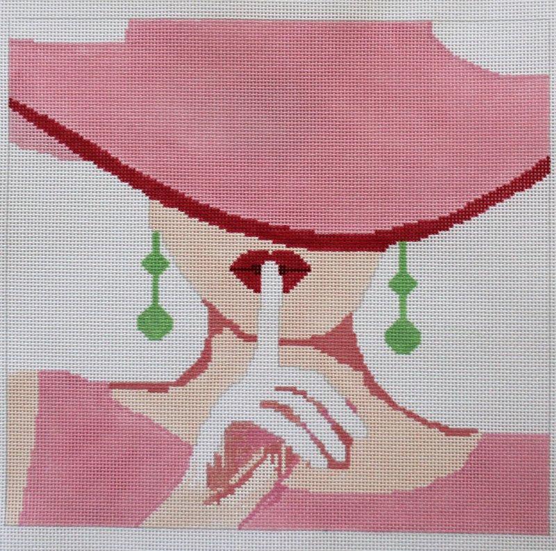 SHH Needlepoint by Voila - Canvas Only